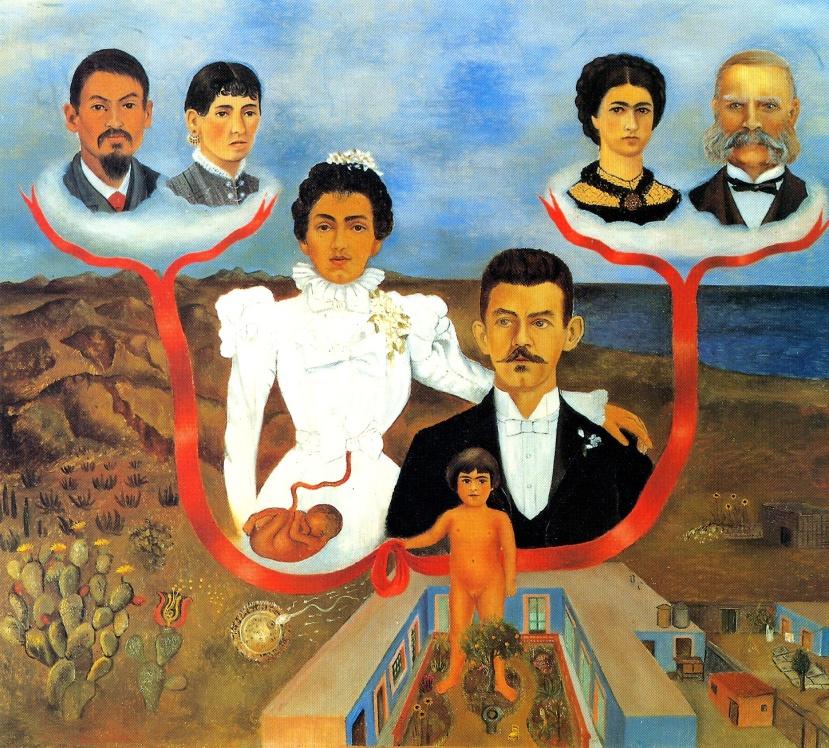 arbre généalogique Frida