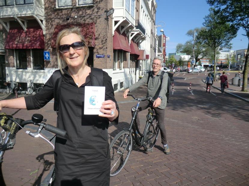 Etape 16-AMSTERDAM-Echanges le long des canaux